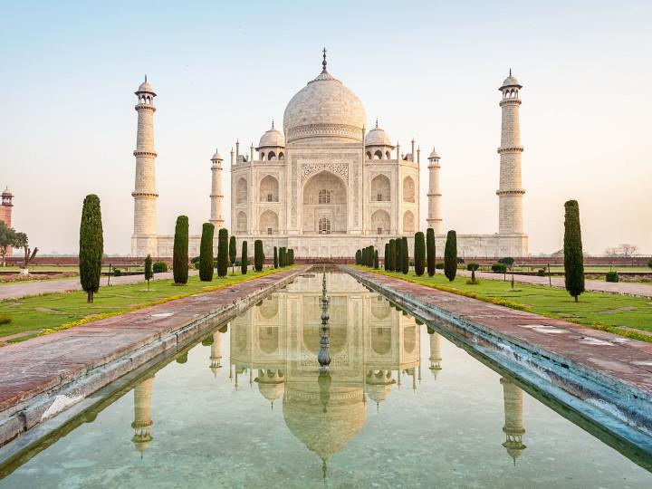 50 najljepših destinacija u Aziji, Taj Mahal,Indija