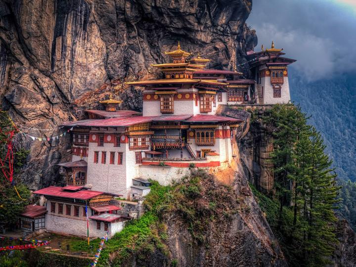 50 najljepših destinacija u Aziji, Samostan Paro Taktsang, Butan