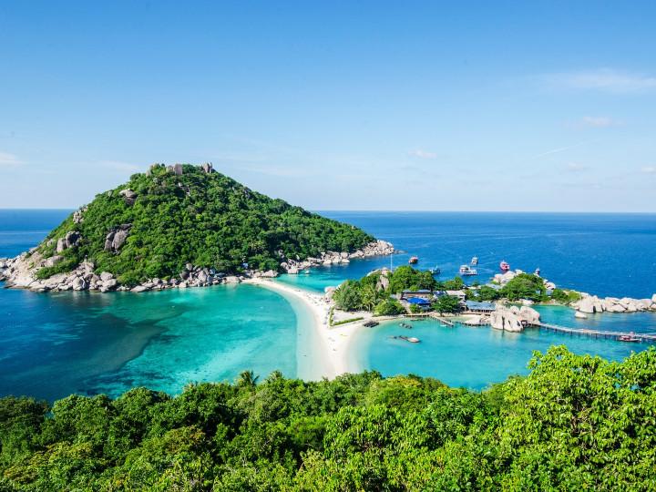 50 najljepših destinacija u Aziji, Ko Tao, Tajland
