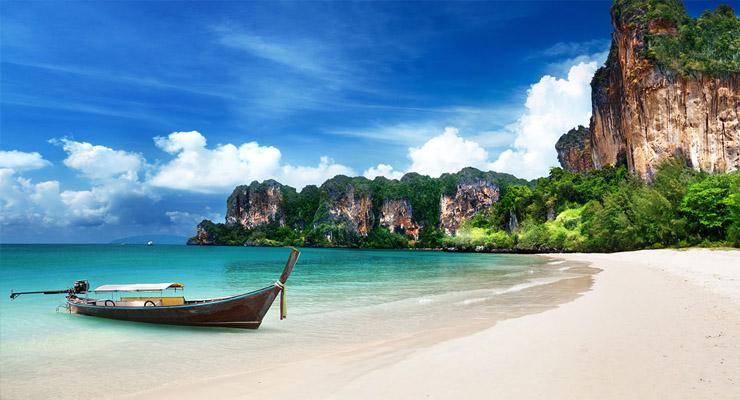 plaža u Tajlandu