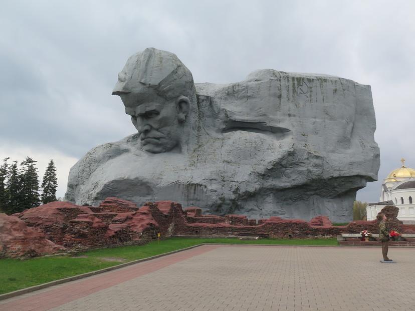 Bretska tvrdjava sredisnji kip