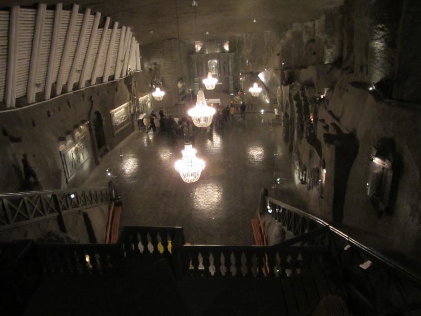 rudnik soli Wieliczka Poljska
