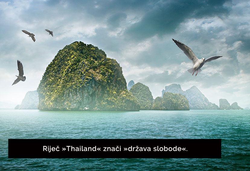 Tajska - 18 dejstev