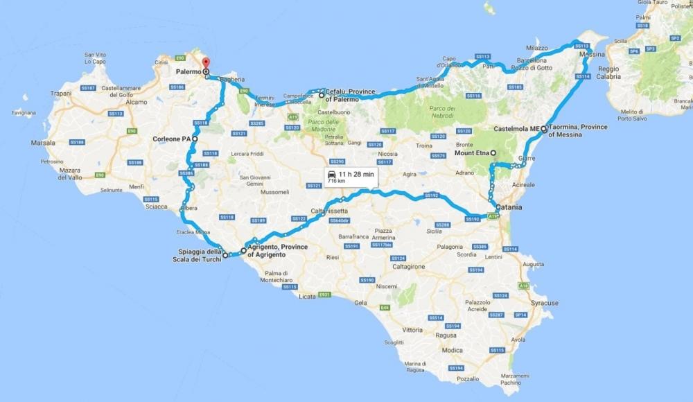 Tura Po Siciliji Od Palerma Do Corleonea U 10 Dana Autom Nomago