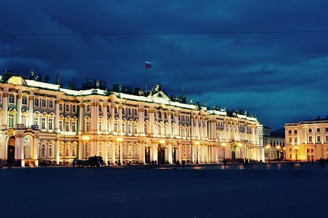 hermitage museum saint petersburg russia