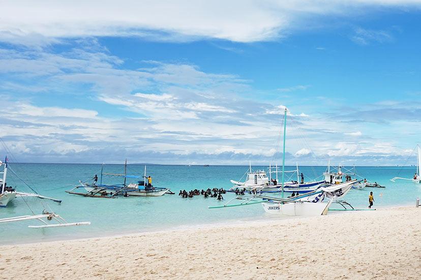 Novo leto na plaži: Filipini.