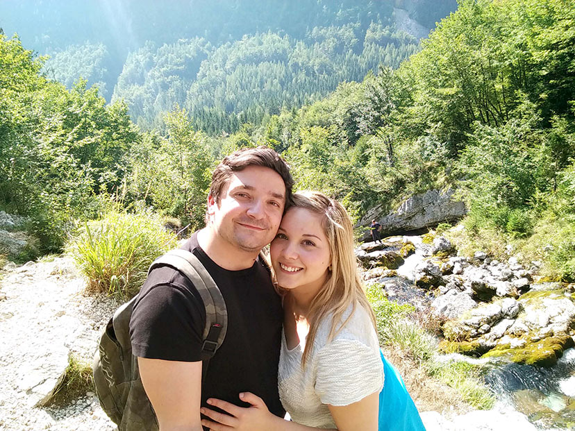 Iz Mehike v Slovenijo zaradi ljubezni